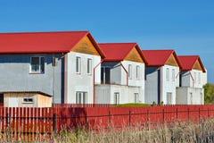Новые дома Стоковые Фотографии RF