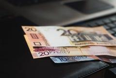 Новые деньги в Беларуси Стоковые Изображения RF