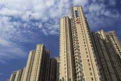 Новые жилые дома группы haitou Стоковое Изображение RF