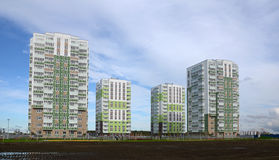 Новые жилые районы Стоковое Фото