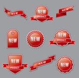 Новые знамена рекламы иллюстрация штока