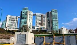Новые здания в Мексике Стоковое Изображение