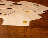 Новые карточки обломока Стоковое Фото