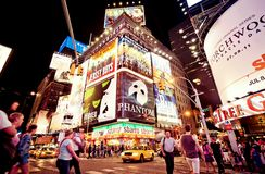 новые квадратные времена york Стоковые Фотографии RF