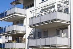 Новые квартиры Стоковое Изображение