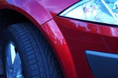 новые колеса Стоковая Фотография