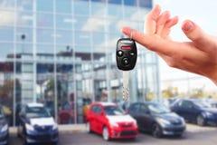 Новые ключи автомобиля. Стоковые Изображения RF
