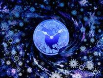 новые леты времени Стоковое Изображение RF