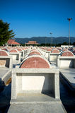 Новые могильные камни Chantaburi, Таиланд Стоковая Фотография