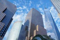 новые небоскребы york Стоковая Фотография