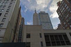 новые небоскребы york Стоковое Фото