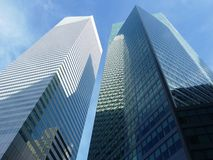 новые небоскребы york Стоковые Фотографии RF