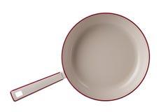 Новые лотки кухни изолированные на белой предпосылке Стоковое Фото