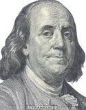 Новые 100 долларов счета Стоковая Фотография RF