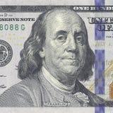 Новые 100 долларов счета Стоковая Фотография