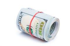 Новые 100 долларов Стоковые Фотографии RF