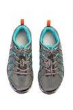 Новые пары ботинка спорта для задействовать горы Стоковые Фотографии RF