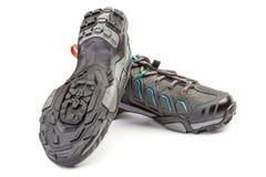 Новые пары ботинка спорта для задействовать горы Стоковая Фотография