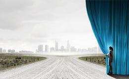 Новые пути и перспективы Стоковая Фотография RF