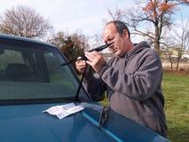 новые счищатели лобового стекла стоковые фотографии rf