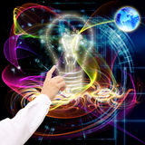 Новые технологии интернета Стоковое Изображение