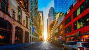 новые улицы york стоковые изображения rf