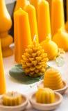 Новые форменные свечи Стоковая Фотография