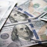 Новые USD предпосылки Стоковое Изображение RF