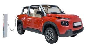 Новый автомобиль энергии стоковые изображения rf
