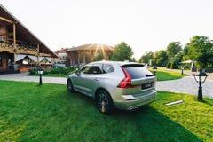 Новый автомобиль 2018 Volvo XC60 стоковое фото rf