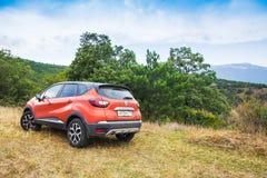 Новый автомобиль Renault Kaptur стоковое фото rf