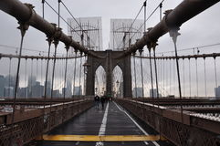 Новый Бруклинский мост Jork Стоковые Фотографии RF