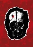 новый вектор черепа ii Стоковое Изображение