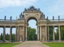 Новый дворец, Потсдам, Германия Стоковое Изображение