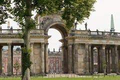 Новый дворец, Потсдам, Германия Стоковое фото RF
