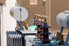 Новый высоковольтный трансформатор Стоковая Фотография