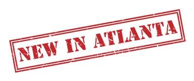 Новый в штемпеле atlanta красном бесплатная иллюстрация