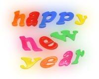 Новый Год алфавитов счастливое Стоковые Изображения