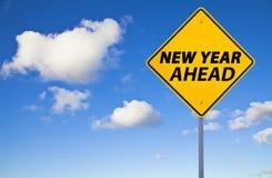 Новый Год вперед стоковые фото