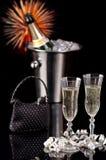 новый год времени партии Стоковое Изображение