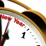 новый год времени Стоковое Изображение
