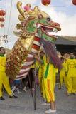 Новый Год в феврале 14 2010 китайцев Стоковая Фотография RF