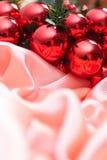 Новый Год гирлянды украшения рождества Стоковое фото RF