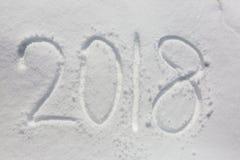 Новый Год даты Стоковая Фотография