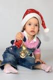 Новый Год девушки крышки Стоковое фото RF