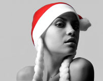 Новый Год девушки Стоковое Изображение