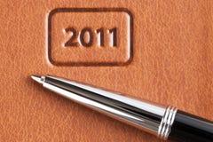 Новый Год дела предпосылки Стоковые Фотографии RF