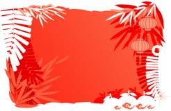 Новый Год дня абстрактной предпосылки китайское Стоковые Фото