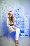 Новый Год женщины Стоковое фото RF