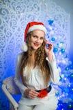Новый Год женщины Стоковые Фотографии RF